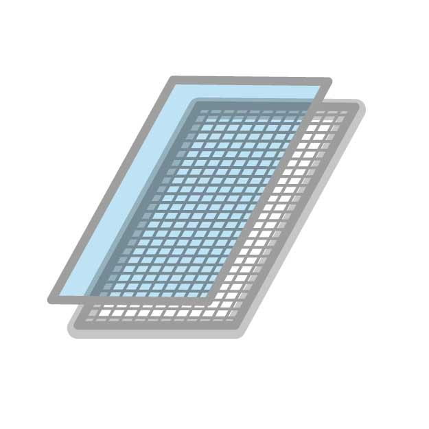 Lichtschachtabdeckung Insektenschutz | Abdeckung nach Mass